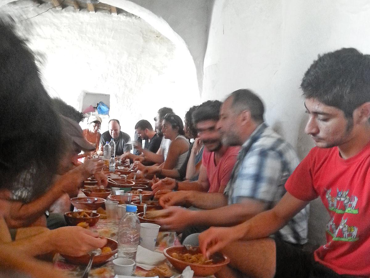 amorgos-cyclades-island-endless-blue-greece-summer-vacation-Panigiri-End of Festival-Fest-dinner-greek-food