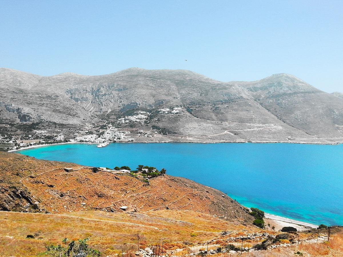 amorgos-cyclades-island-endless-blue-greece-summer-vacation-Panigiri-sea-view-End of Festival Fest