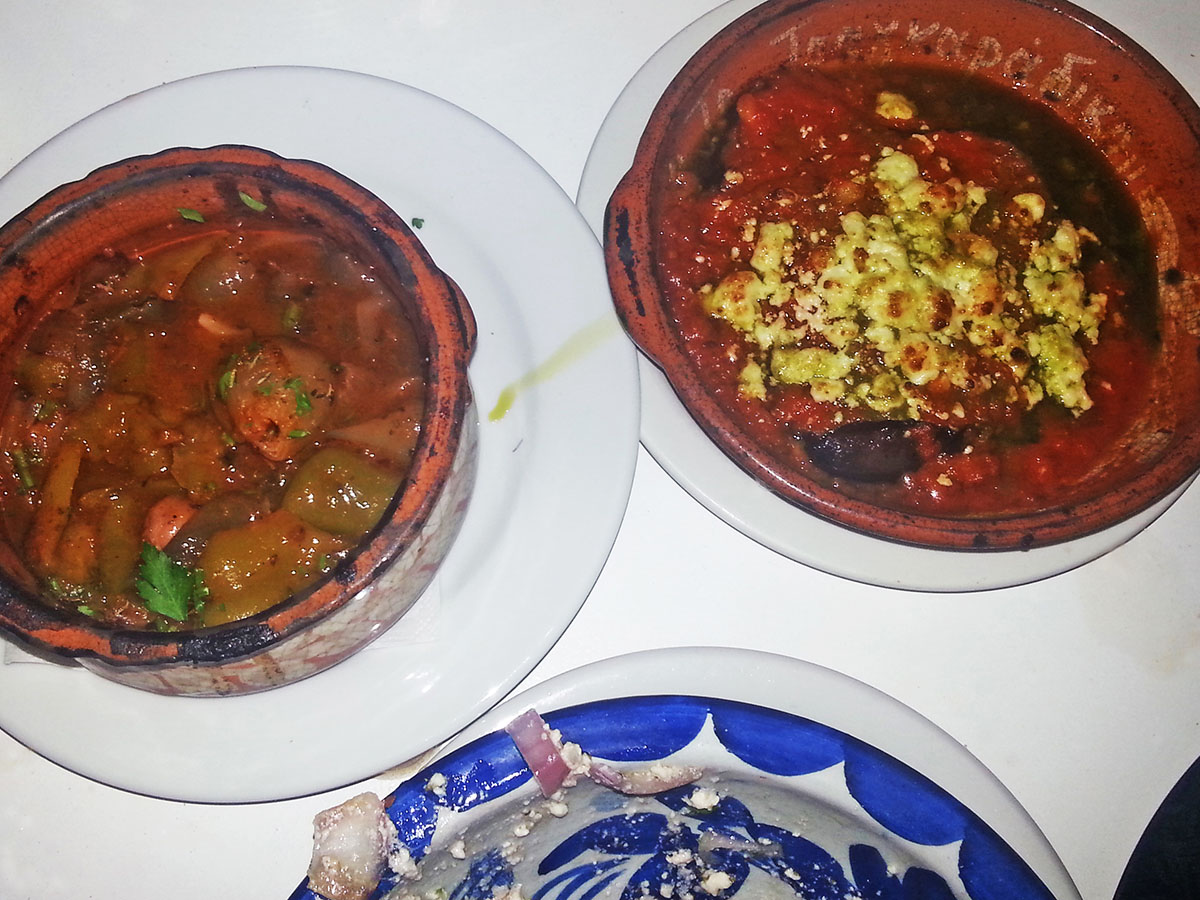 amorgos-cyclades-island-endless-blue-greece-summer-vacation-Tsagkaradiko-greek-food