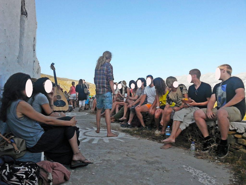 amorgos-cyclades-island-endless-blue-greece-summer-vacation-Panigiri-End of Festival Fest-friends